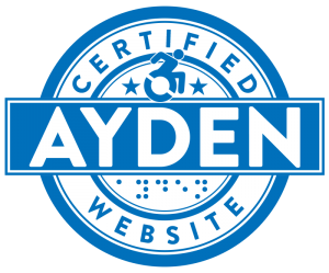 AYDEN CERTIFIED WEBSITE LOGO