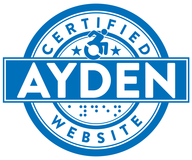 AYDEN CERTIFIED WEBSITE LOGO