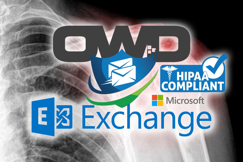 OCALA WEBSITE DESIGNS LOGO AND HIPAA COMPLIANT EMAIL LOGO